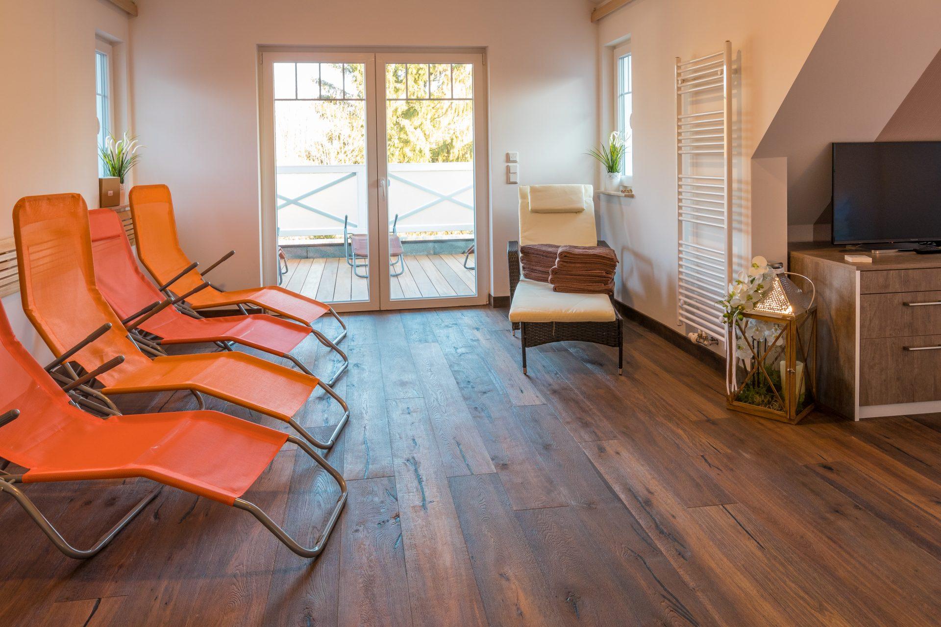 Sauna-Wellnessbereich
