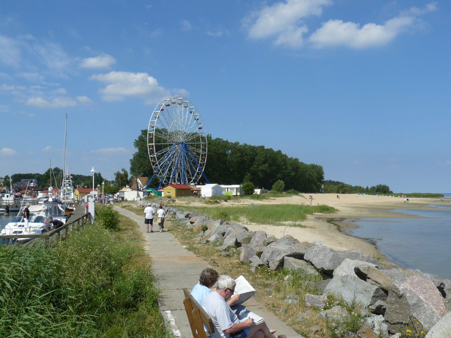 Freester Fischerfest am Hafen und Strand